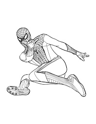 Print spiderman coloring pages for free and color our spiderman coloring! Free Printable Spiderman Coloring Pages For Kids