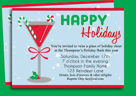Company Christmas Party Invitation Templates Templates With Design