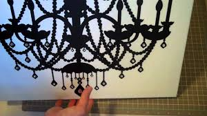chandelier canvas project