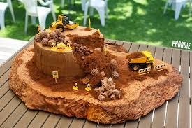 Phoodies Construction Site Birthday Cake Phoodie