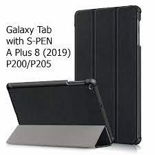 Bao Da Samsung Galaxy Tab A Plus 8 (2019) P200 / P205 with S-Pen Cover Cho Máy  Tính Bảng Hỗ Trợ Smart Cover giá cạnh tranh