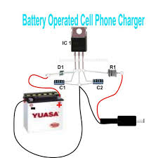 simple dc cellphone charger circuit electronic circuit projects simple dc cellphone charger circuit