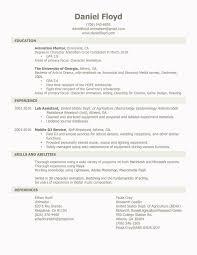 Animator Resume Daniel Floyd Character Animator Resume 2