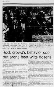 1993 04 09 Rushmore Plaza Civic Center Rapid City Usa