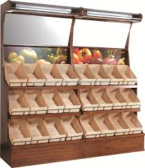 Wooden Fruit Display Stands Wooden Vegetable And Fruit Display Stand Cabinet Design Case Buy 1