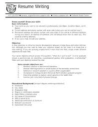 Example Of Student Resume With No Experience Resumes Examples For ...