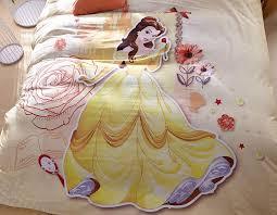 disney princess belle bedding set for kids girls teens 4 600x467 disney princess belle bedding