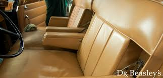 1960 s rolls royce leather seat