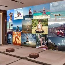 <b>beibehang Custom</b> Fresco wallpaper of <b>any size</b> Vintage gym ...