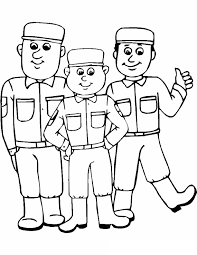 Army Coloring Pages For Kids Coloringstar