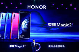 Honor chief boasts Magic 2 phone is so ...