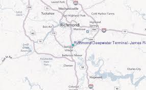 Richmond Deepwater Terminal James River Virginia Tide