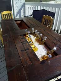 Beer Cooler Coffee Table Beer Cooler Coffee Table Home Furnishing