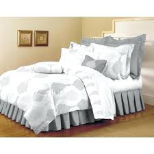 white duvet cover for your home home classic trends white light gray 5 piece full queen