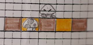 Super Mario Bros Levels Were Originally Sketched Out On Graph Paper