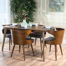 mid century modern dining room table. Mesmerizing Dining Room Decoration: Terrific Lena Mid Century Table West Elm Of And Chairs Modern