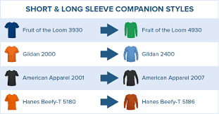 Hanes Women S T Shirt Size Chart Long Sleeve T Shirts Design Screen Print Your Own Custom