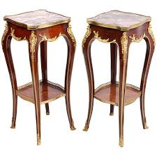 pair of louis xvi style side tables for sale side tables for sale y86