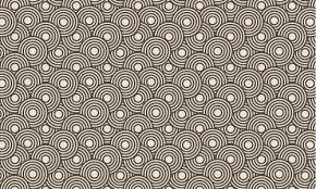 Free Patterns Impressive Crazy Circles Free Seamless Pattern Free Vector In Adobe Illustrator