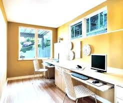 home office desk for two. Home Office For Two Layout Person Desk Medium Size Of .