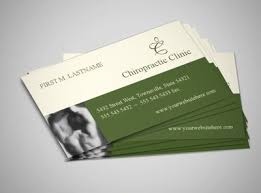 Chiropractic Care And Massage Business Card Template Chiropractic