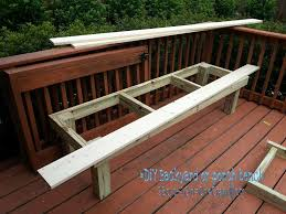 nice diy patio bench porch plans jack sander deck and cost house decorating