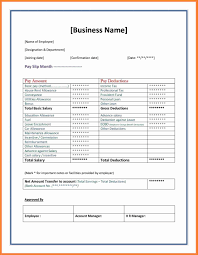 Salary Slip Format Word Doc Fresh Professional Payslip Templates ...