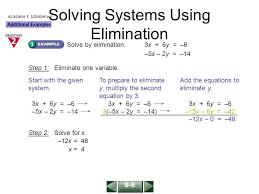 5 solving