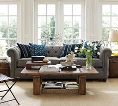 Pottery Barn For Living Room Living Room Trendy Small Family Room Decorating Ideas White Wall