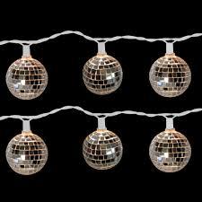 Light Ball Home Depot Brite Star 10 Light Disco Ball Clear Light Set Set Of 2 96
