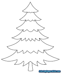 tree coloring pages for s