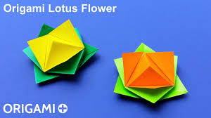 How To Make Big Lotus Flower From Paper Origami Lotus Flower