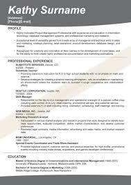Effective Resume Formats Resume Samples