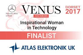 Venus Awards Finalist 2017 Dorset Creative Digital Agency