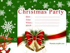 Christmas Invitation Card From I Combined With Astounding