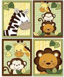 Jungle Theme Baby Quilt Patterns & Kid And Baby Quilt Patterns ... & Resultado De Imagen Para Nursery Canvas Wall Art Jungle Theme . Adamdwight.com