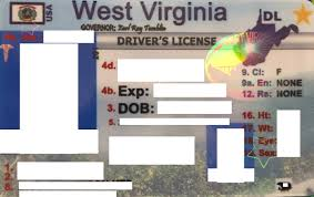 West Id Fake West Fake West Virginia Virginia Id
