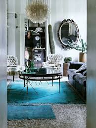 overdyed rugs ideas gray living room blue antique rug