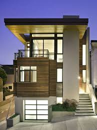 Small House Exterior Designs Lighting
