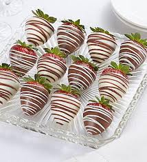 chocolate covered strawberries. Brilliant Covered With Chocolate Covered Strawberries
