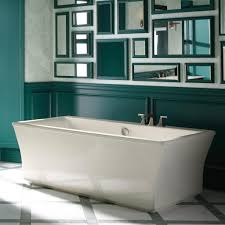 bathtubs idea kohler soaker tub alcove bathtub emerald green bathroom with large freestanding bathtub in