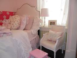 Pink Bedroom Chair Bedroom Old Chair Vintage Door And Lovely Lamp Make The Bedside
