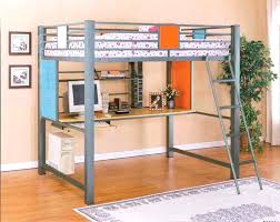 full size loft beds with desk image of best full size loft bed with desk plans