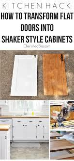 kitchen hack diy shaker style cabinets