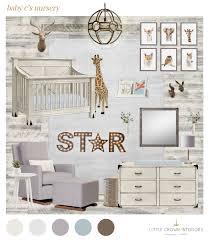 safari wallpaper nursery.  Wallpaper Neutral Safari Nursery  Little Crown Interiors With Wallpaper