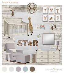 neutral safari nursery little crown interiors