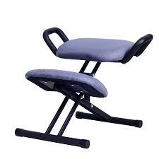 ergonomic office kneeling chair ergonomically designed kneeling chair stool w handle height adjust office knee chair