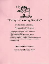 House Cleaning Services Creative Marketing Materials For A House