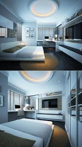 ultra modern bedrooms. Ultra Modern Luxury Bedroom Set Design Ideas With Elegant White Fitted TV Cabinets Storage And Bedrooms