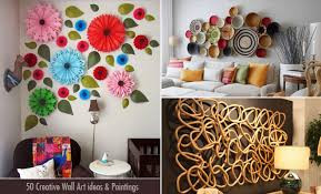 50 creative wall art ideas and wall